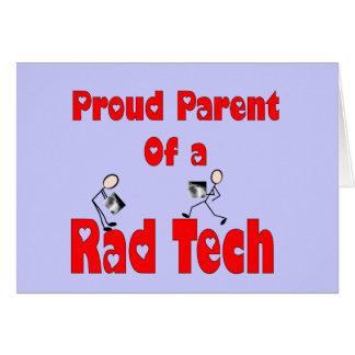 Proud Parent of a RAD TECH Card