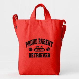 Proud Parent of a Retriever Baggu Duck Bag