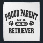 """Proud Parent of a Retriever Bandana<br><div class=""""desc"""">Proud Parent of a Retriever bandana</div>"""