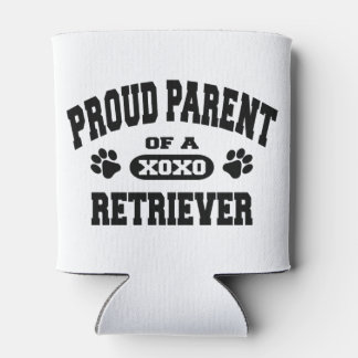 Proud Parent of a Retriever Custom Can Holder Can Cooler