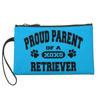 Proud Parent of a Retriever Mini Cluth Purse