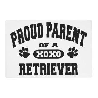 Proud Parent of a Retriever Placemat