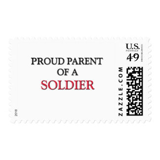 Proud Parent Of A SOLDIER Postage Stamps