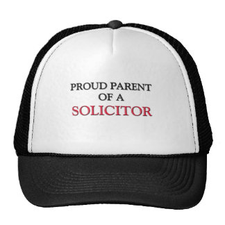 Proud Parent Of A SOLICITOR Trucker Hat