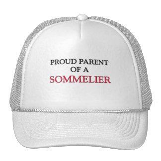 Proud Parent Of A SOMMELIER Trucker Hat