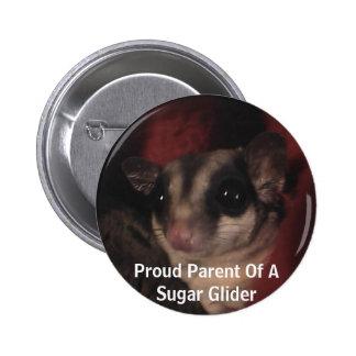 Proud Parent Of A Sugar Glider Button