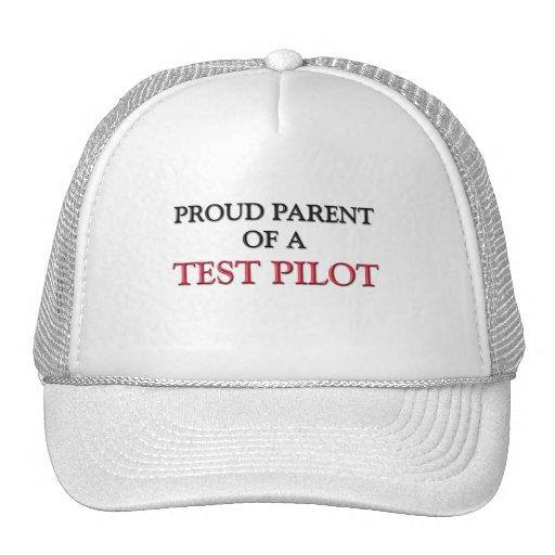 Proud Parent Of A TEST PILOT Trucker Hat