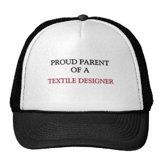 Proud Parent Of A TEXTILE DESIGNER Trucker Hat