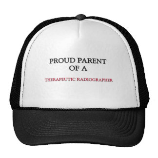 Proud Parent Of A THERAPEUTIC RADIOGRAPHER Mesh Hat
