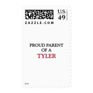 Proud Parent Of A TYLER Postage