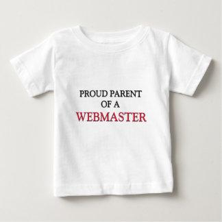 Proud Parent Of A WEBMASTER T Shirts