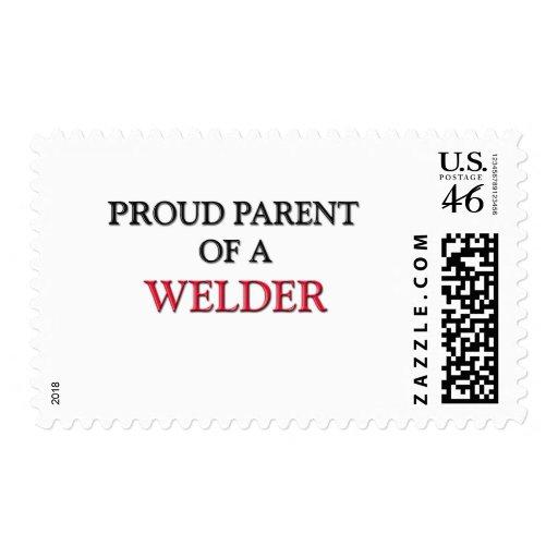 Proud Parent Of A WELDER Stamps
