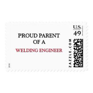 Proud Parent Of A WELDING ENGINEER Stamp