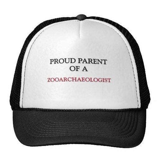 Proud Parent Of A ZOOARCHAEOLOGIST Mesh Hats