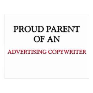 Proud Parent OF AN ADVERTISING COPYWRITER Post Card