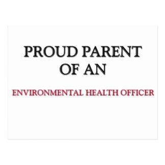 Proud Parent OF AN ENVIRONMENTAL HEALTH OFFICER Postcard