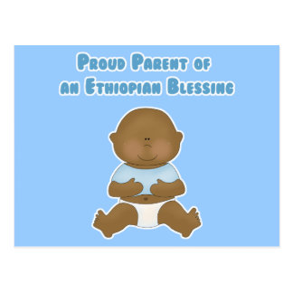 Proud Parent of an Ethiopian Blessing Postcard