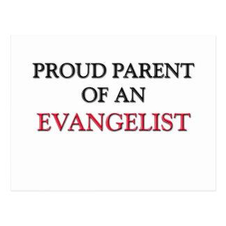 Proud Parent OF AN EVANGELIST Postcard