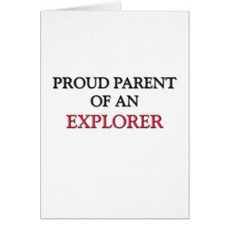 Proud Parent OF AN EXPLORER Card