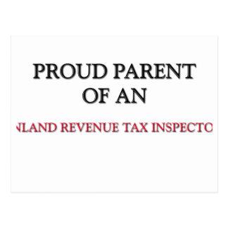 Proud Parent OF AN INLAND REVENUE TAX INSPECTOR Postcards