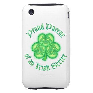 Proud Parent of an Irish Setter Tough iPhone 3 Case