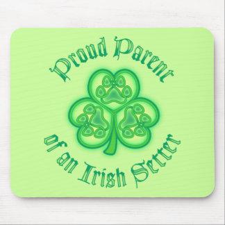Proud Parent of an Irish Setter Mouse Pad