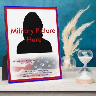 Proud Parent of Military Daughter Frame Plaque