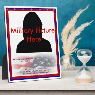 Proud Parent of Military Daughter Frame Plaques