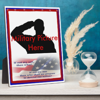 Proud Parent of Military Son Frame Plaques