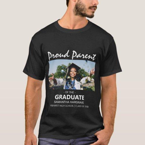 Proud Parent Of The Graduate  Photo T_Shirt
