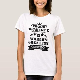 proud parent of world's greatest gecko T-Shirt