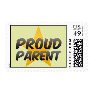 Proud Parent Postage Stamp