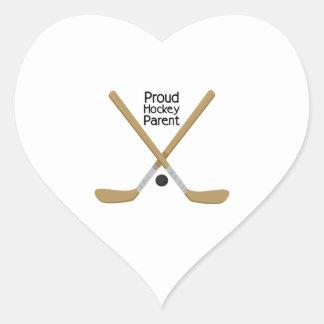 Proud Parent Heart Sticker