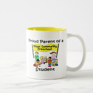 Proud Parent Two-Tone Coffee Mug
