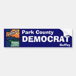 Proud ParkCo Dem - Guffey Bumper Sticker