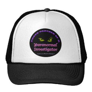 Proud Partner of a Paranormal Investigator cap Trucker Hat