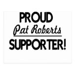Proud Pat Roberts Supporter! Post Cards