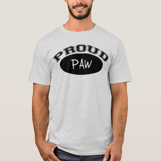 Proud Paw (Black) T-Shirt