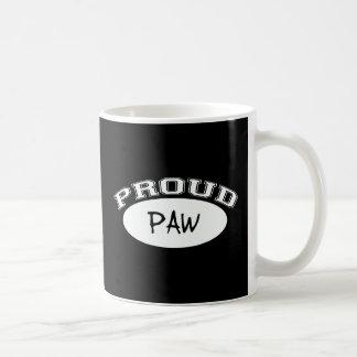 Proud Paw (White) Coffee Mug