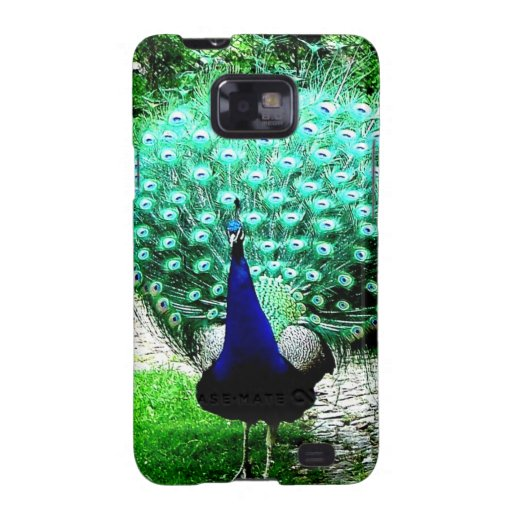Proud peacock samsung galaxy s2 cover