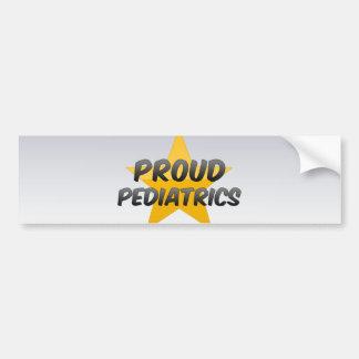 Proud Pediatrics Bumper Stickers