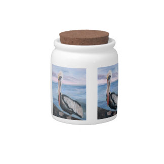 Proud Pelican Candy Jar
