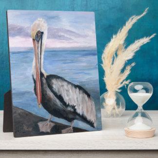 Proud Pelican Plaque