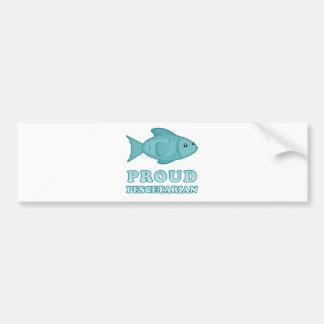 Proud Pescetarian Bumper Sticker