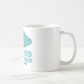 Proud Pescetarian Classic White Coffee Mug