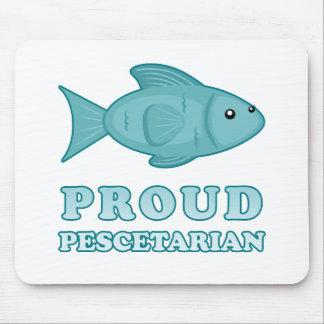 Proud Pescetarian Mouse Pad