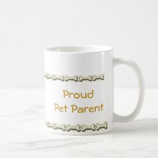 Proud Pet Parent Classic White Coffee Mug