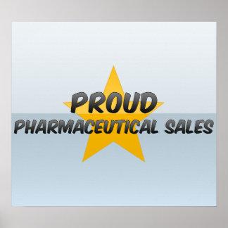 Proud Pharmaceutical Sales Print