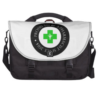 Proud Pharmacist Since 2014 Bags For Laptop