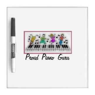 Proud Piano Guru Dry-Erase Board